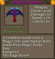 Zephyr crossbow