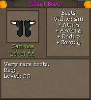 Ghost Boots