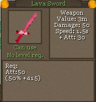 LavaSword