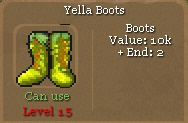 Orake Yella Boots