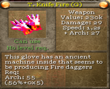 T.knife fire (g)-0
