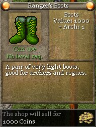 Ranger's Boots