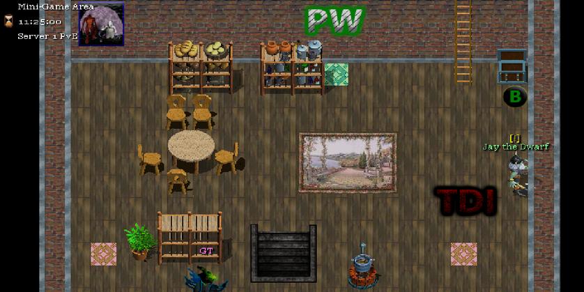 Mini-game area map