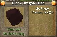 Black Dragon Hide