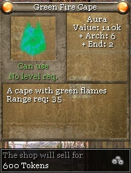 Green Fire Cape