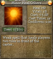 Minor Heal Others