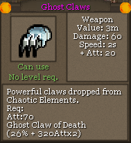 Ghost Claws
