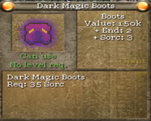 Dark magic boots-0