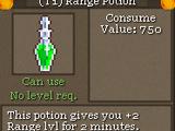 (T1) Range Potion