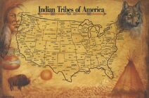 Native American Tribes Map 1