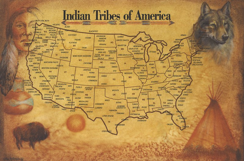Image - Native American Tribes Map 1.jpg | Oral Tradition Wiki ...