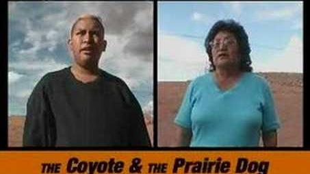 The Coyote & The Prairie Dog