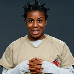 Season 1 Crazy Eyes.