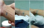 S05E10 - Wes Driscoll Tattoo