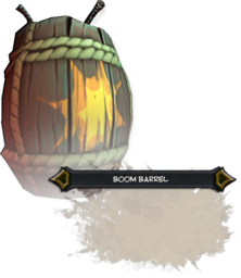 Boom Barrel Render