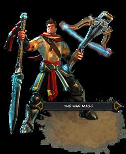 The War Mage Render