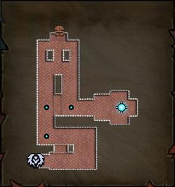 Servant Entrance Map