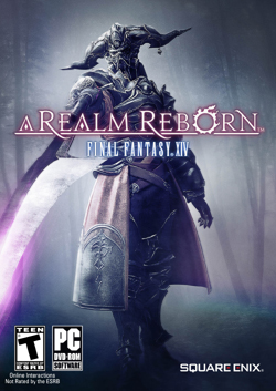 Final Fantasy XIV, A Realm Reborn box cover