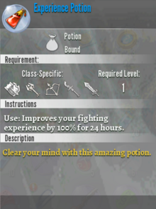 Experience Potion