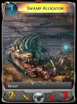 Swamp Alligator