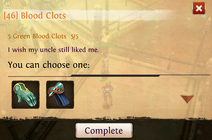 Quest blood clots complete