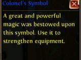 Colonel's Symbol