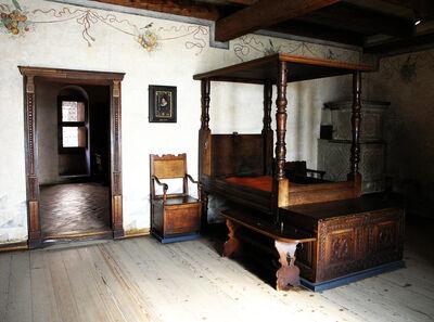 Medieval Bedroom by Elyzius on deviantART