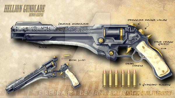 Hellion gunblade by redrab8t-d38mpai
