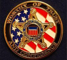 Secret-service-badge