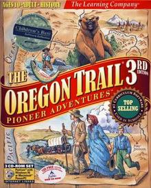 Oregon trail 3 cover