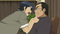Kyousuke vs dad