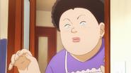 Yuriko telling Takeo he has a guest