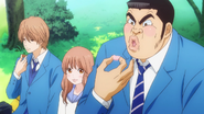 Takeo liking Makoto's home-made sweets