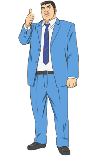 Takeo Gouda Anime Infobox