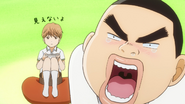 Takeo loosing to a game to Makoto