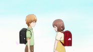 Misaki confessing to Makoto