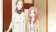 Sunakawa's mother bringing Rinko to Makoto's room