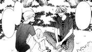 Maizono introduces himself to Hayasaka