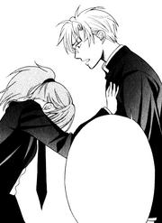Hojo pushes Yui away