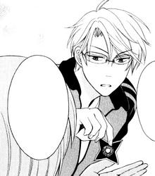 Yui teaching Mafuyu how to throw shuriken