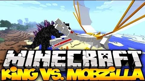 """""""THE KING VS MOBZILLA"""" - Minecraft Mob Battles MOST POWERFUL MOBS IN MINECRAFT! (OreSpawn Mod)"""