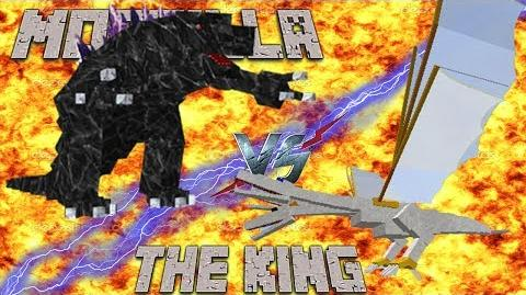 The King vs Mobzilla!