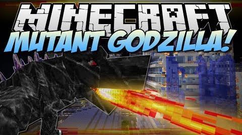 Minecraft MUTANT GODZILLA! (Can You Take Down The BEAST?!) Mod Showcase 1.6.4