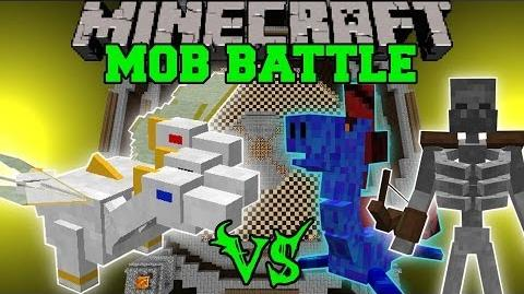 THE PRINCE VS WATER DRAGON, VORTEX, & MORE - Minecraft Mob Battles - OreSpawn Mods