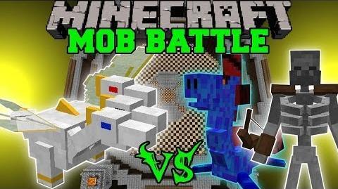 THE PRINCE VS WATER DRAGON, VORTEX, & MORE - Minecraft Mob Battles - OreSpawn Mods