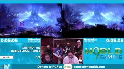 Ori and the Blind Forest by Grimelios, Ankamius in 53 24 - Awesome Games Done Quick 2016 - Part 29-0