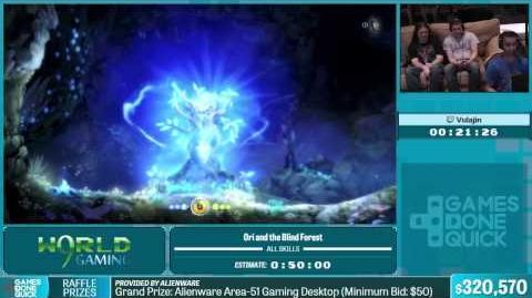 Ori and the Blind Forest by Vulajin in 44 05 - Summer Games Done Quick 2015 - Part 60-0