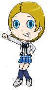 MiwaInSchoolUniform