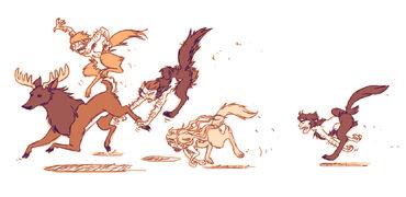 Wolfon hunt