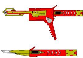 Ninja Battle Blaster and Sword